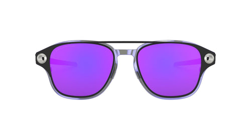 Oakley - Coldfuse Matte Black/Violet Iridium Square Men Sunglasses - 52mm