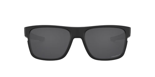 Oakley - OO9361 Matte Black Square Men Polarized Sunglasses - 57mm