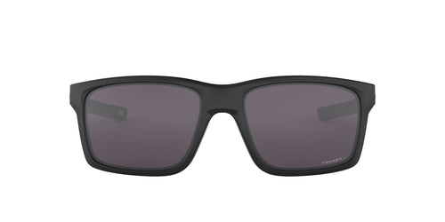 Oakley - Mainlink Matte Black/Prizm Grey Rectangle Men Sunglasses - 61mm