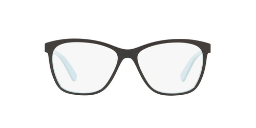 Oakley - Alias Blue Milkshake/Clear Round Women Eyeglasses - 53mm