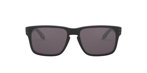 Oakley - Holbrook XS Matte Black/Grey Square Men Sunglasses - 53mm