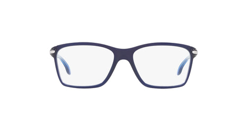 Oakley - OY8010 Polished Ice Blue Rectangle Women Eyeglasses - 49mm