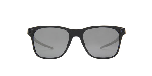 Oakley - Apparition Satin Black/Black Iridium Square Men Polarized Sunglasses - 55mm