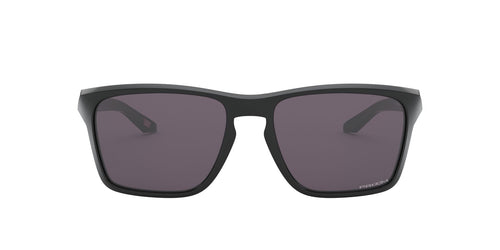 Oakley - Sylas Polished Black/Prizm Grey Rectangle Men Sunglasses - 57mm