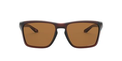 Oakley - Sylas Polished Rootbeer/Prizm Bronze Rectangle Men Sunglasses - 57mm
