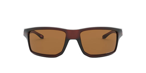 Oakley - Gibston Polished Rootbeer/Prizm Bronze Square Men Sunglasses - 61mm