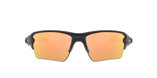 Oakley - Flak 2.0 XL Matte Black/Prizm Rose Gold Polarized Wrap Men Sunglasses - 59mm