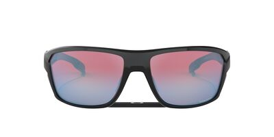 Oakley - Split Shot Polished Black/Prizm Snow Sapphire Rectangle Men Sunglasses - 64mm