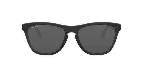 Oakley - Frogskins Mix Matte Black Ink Round Men Sunglasses - 55mm