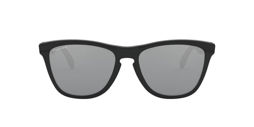 Oakley - Frogskins Mix Polished Black Round Men Sunglasses - 55mm