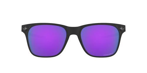 Oakley - Apparition Satin Black/Prizm Violet Square Men Sunglasses - 55mm