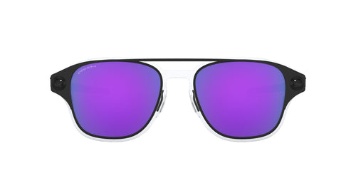 Oakley - Coldfuse Matte Black/Prizm Violet Square Men Sunglasses - 52mm