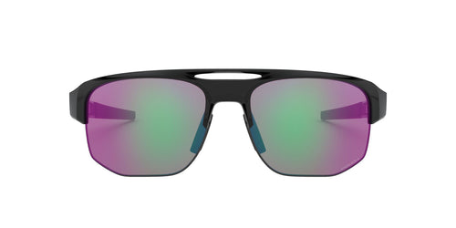 Oakley - Mercenary Polished Black/Prizm Golf Wrap Men Sunglasses - 70mm