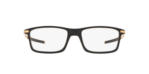 Oakley - Pitchman Satin Black/Clear Rectangle Men Eyeglasses - 53mm