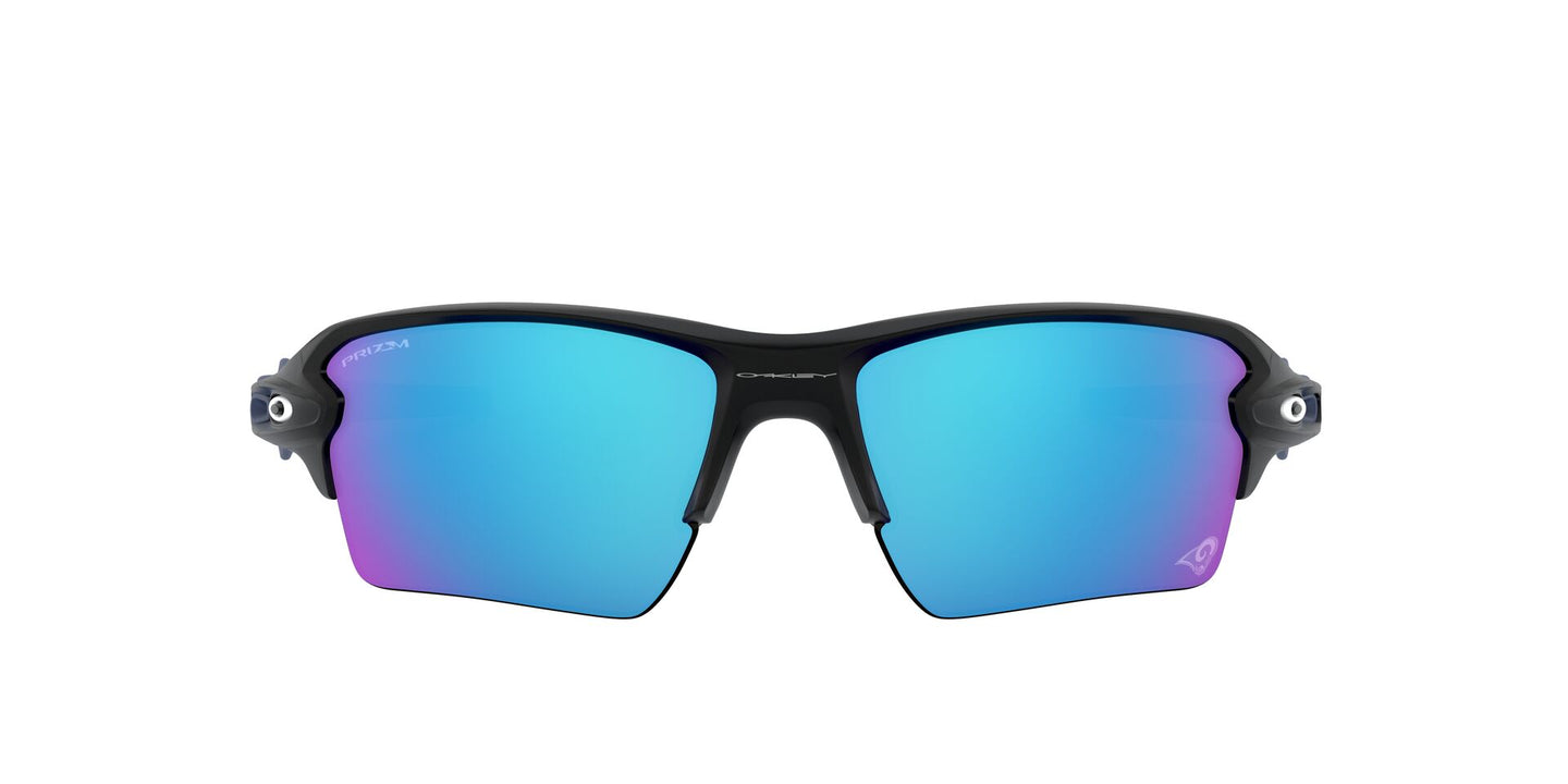 Oakley - Flak 2.0 XL Matte Black/Prizm Sapphire Rectangle Men Sunglasses - 59mm