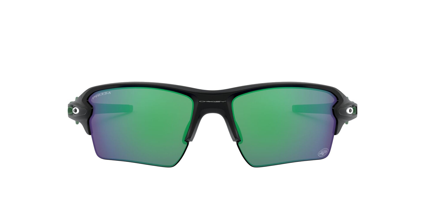 Oakley - Flak 2.0 XL Matte Black/Prizm Jade Rectangle Men Sunglasses - 59mm