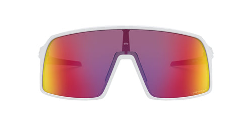 Oakley - Sutro Matte White/Prizm Road Rectangle Men Sunglasses - 37mm