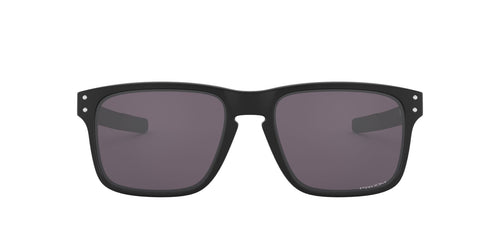 Oakley - Holbrook Mix Matte Black /Prizm Grey Polarized Rectangle Men Sunglasses - 57mm