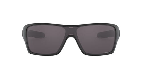 Oakley - Turbine Rotor Matte Black /Prizm Grey  Polarized Shield Men Sunglasses - 32mm