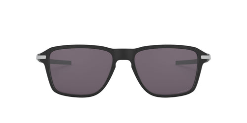 Oakley - Wheel House Satin Black/Prizm Grey Square Men Sunglasses - 54mm