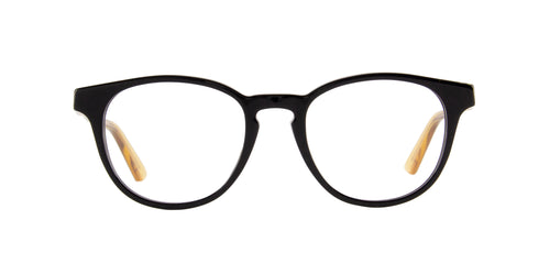Gucci - GG0491O Black Oval Men Eyeglasses - 49mm