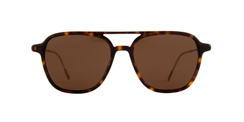 Mont Blanc - MB0003S Havana Square Men Sunglasses - 53mm