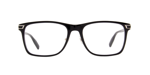 Mont Blanc - MB0042O Black Rectangular Men Eyeglasses - 58mm