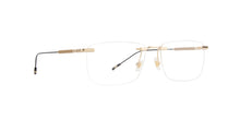 Mont Blanc - MB0049O Gold Rimless Men Eyeglasses - 58mm