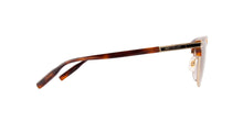 Montblanc - MB0040S Havana/Brown Gradient Oval Men Sunglasses - 56mm