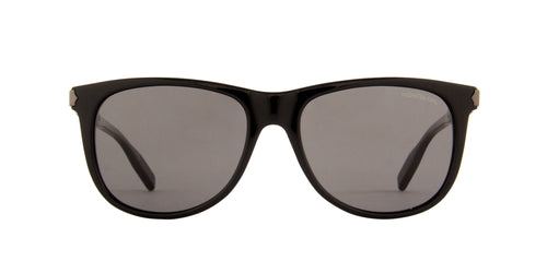Montblanc - MB0031S Black/Grey Rectangular Men Sunglasses - 57mm