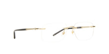 Montblanc - MB0071O Gold/Clear Rimless Men Eyeglasses - 56mm