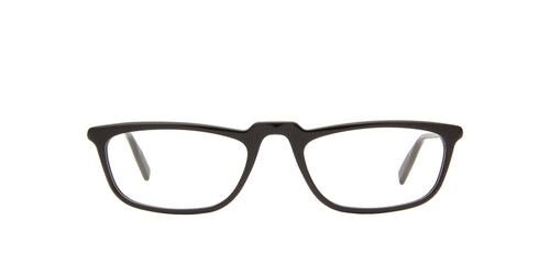 Montblanc - MB0053O Black/Clear Rectangular Men Eyeglasses - 54mm