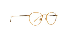 Montblanc - MB0079O Gold/Clear Oval Men Eyeglasses - 49mm