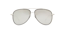 Montblanc - MB0078S Silver/Silver Aviator Men Sunglasses - 59mm