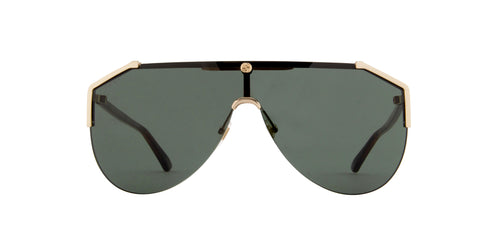 Gucci - GG0584S Gold Shield Men Sunglasses - 99mm