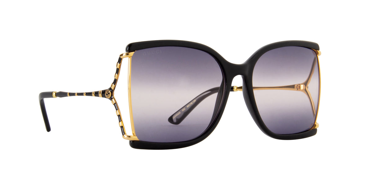 Gucci - GG0592S Black Butterfly Women Sunglasses - 60mm