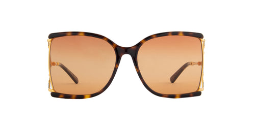 Gucci - GG0592S Havana Butterfly Women Sunglasses - 60mm