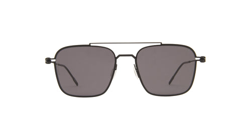 Montblanc - MB0050S Black/Grey Aviator Men Sunglasses - 54mm