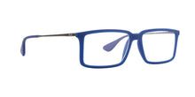 Ray Ban Rx - RX7043 Blue Rectangular  Eyeglasses - 54mm