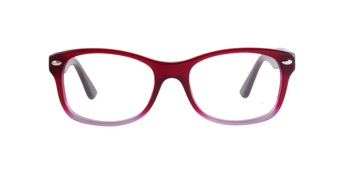 Ray Ban Jr - RY1528 Red Gradient Rectangular Kids Eyeglasses - 48mm