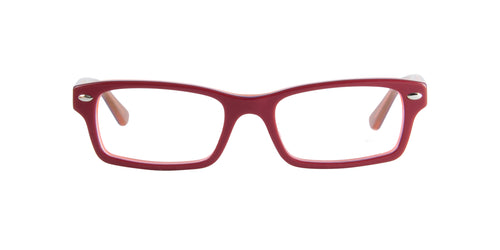 Ray Ban Jr - RY1530 Red Rectangular Kids Eyeglasses - 46mm