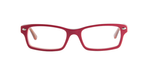 Ray Ban Jr - RY1530 Red Rectangular Kids Eyeglasses - 48mm