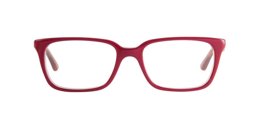 Ray Ban Jr - RY1532 Red Rectangular Kids Eyeglasses - 47mm