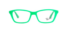 Ray Ban Jr - RY1540 Green Rectangular Kids Eyeglasses - 46mm