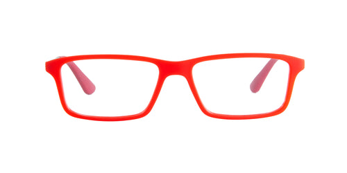 Ray Ban Jr - RY1541 Red Rectangular Kids Eyeglasses - 47mm