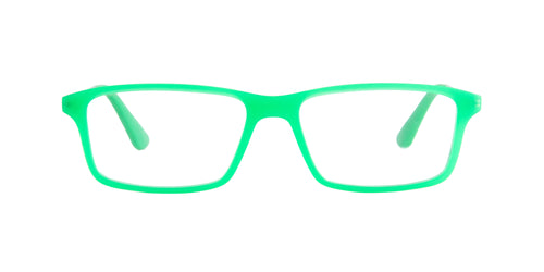 Ray Ban Jr - RY1541 Green Rectangular Kids Eyeglasses - 49mm