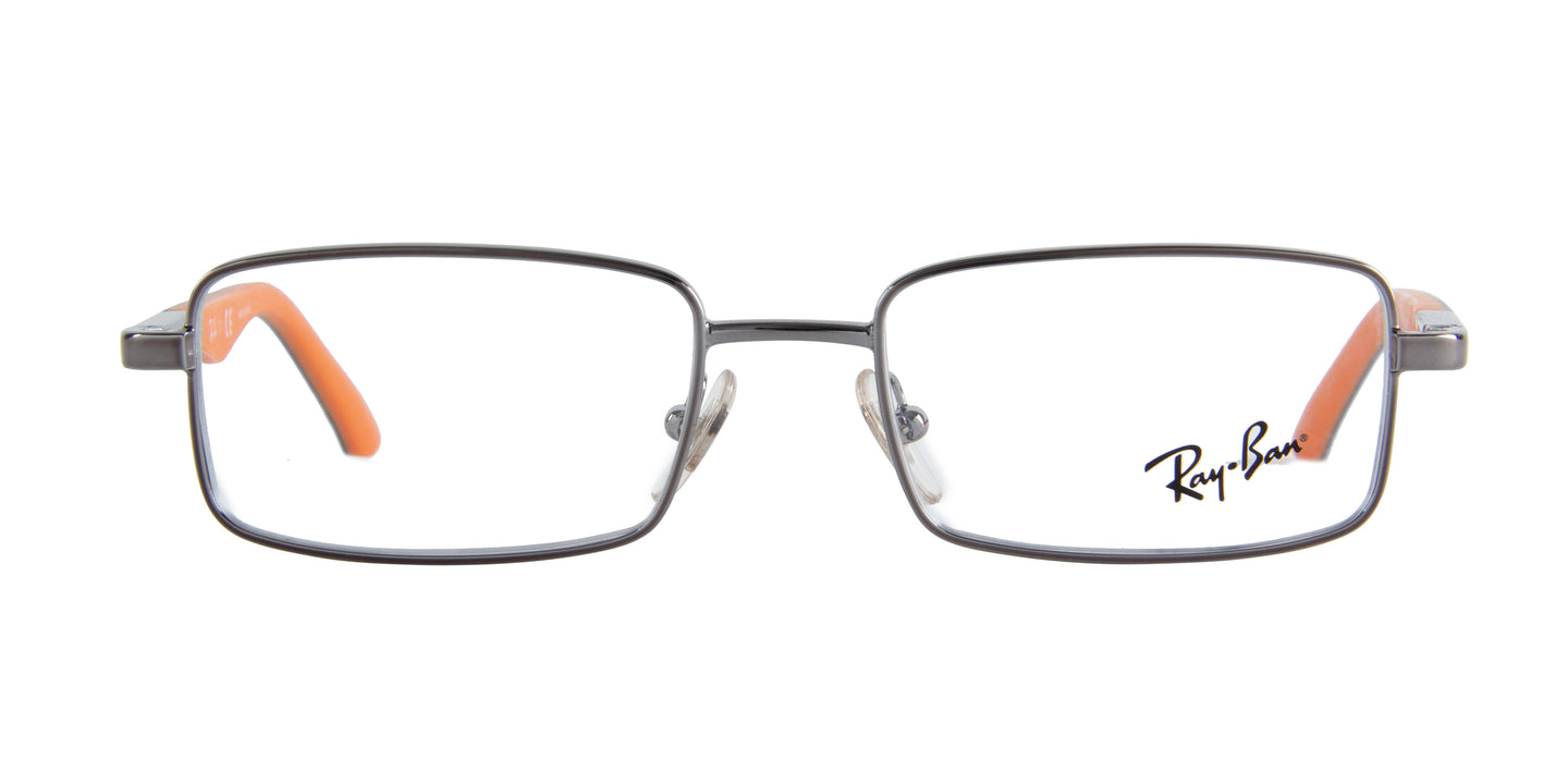 Ray Ban Jr - RJ1033 Gunmetal Rectangular  Eyeglasses - 47mm