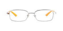 Ray Ban Jr - RY1037 Silver/Orange Rectangular Kids Eyeglasses - 47mm