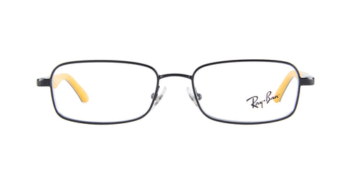 Ray Ban Jr - RJ1033 Black/Yellow Rectangular  Eyeglasses - 47mm