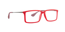 Ray Ban Rx - RX7043 Rub Red Rectangular  Eyeglasses - 54mm